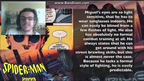 DEMON REACT BATMAN BEYOND vs SPIDER MAN 2099! Cartoon Fight Club Episode 32