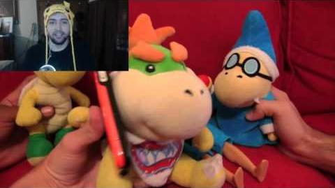 Kushowa Reacts to SML Movie: Bowser Junior's Lightsaber!