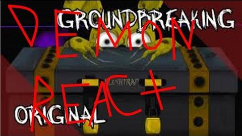 DEMON REACT Plushtrap Five Nights at Freddy's Song Groundbreaking