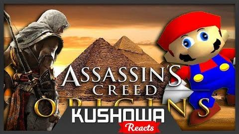 Kushowa Reacts to If Mario was in... Assassins Creed Origins