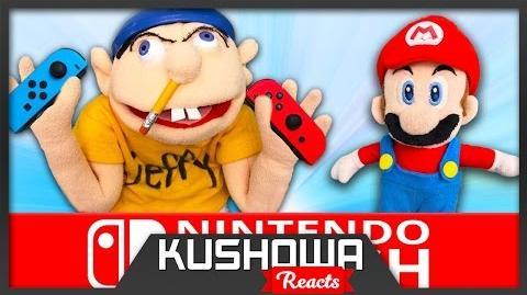 Kushowa Reacts to SML Movie: Nintendo Switch