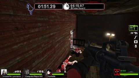 Kushowa Plays Resident Evil Police Station Hall Demo & Left 4 Dead 2 (LS16)