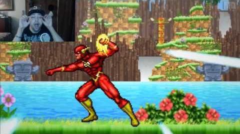 Kushowa Reacts to One Minute Melee - Sonic the Hedgehog vs The Flash (SEGA vs DC Comics)