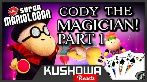 Kushowa Reacts to SML Movie: Cody The Magician!