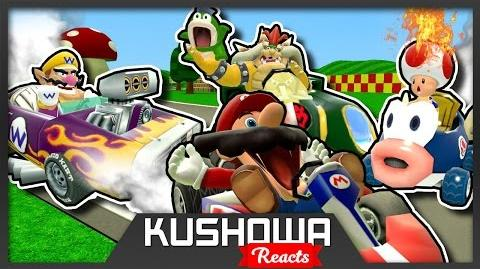 Kushowa Reacts to Retarded64: Stupid Mario Kart