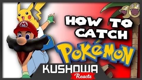 Kushowa Reacts to Super Mario Guides: HOW TO CATCH POKEMON