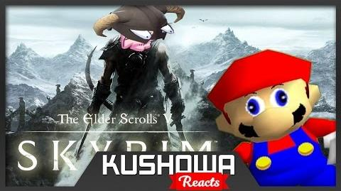 Kushowa Reacts to If Mario Was In... SKYRIM