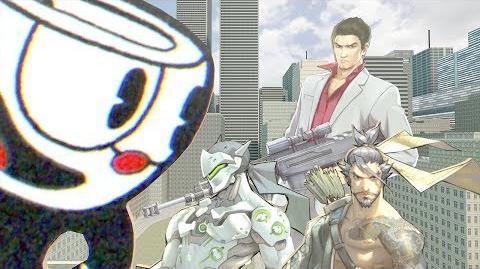 Genji and hanzo's cuphead problem!
