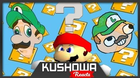 Kushowa Reacts to Retarded64: We're going on a Luigi hunt