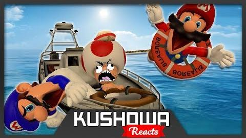Kushowa Reacts to Retarded64: Mario's Boat Trip