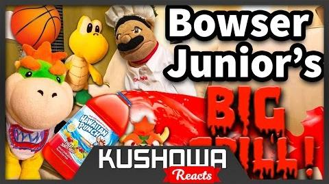 Kushowa Reacts to SML Movie: Bowser Junior's Big Spill!