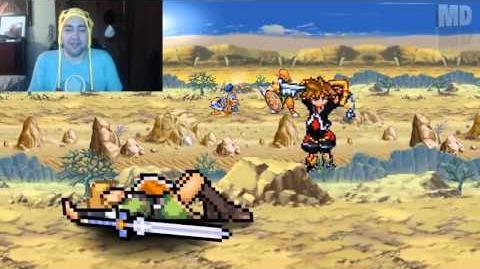 Kushowa Reacts to One Minute Melee - Link Vs Sora (Zelda vs Kingdom Hearts)