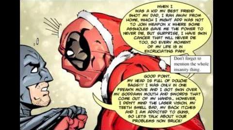 Batmans Life Vs Deadpools Life (Comic Dub)