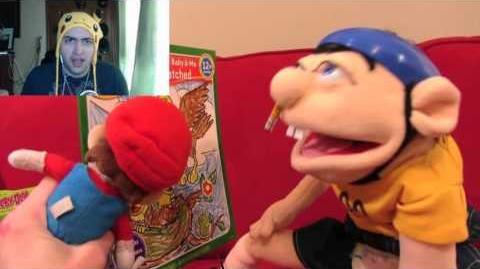 Kushowa Reacts to SML Movie: Mario The Babysitter!