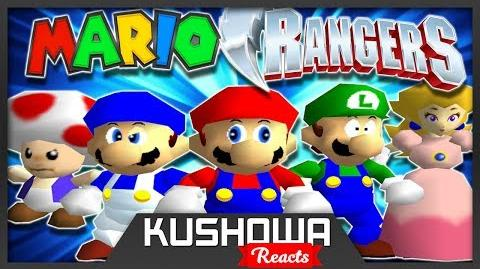 Kushowa Reacts to Mighty Morphin' Mario Rangers
