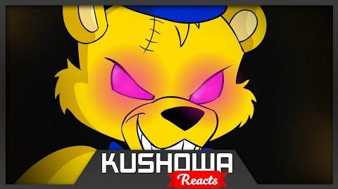 Kushowa Reacts to Five Nights at Freddy's (part 14) - Golden Freddy Tony Crynight