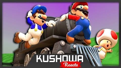 Kushowa Reacts to SMG4 Mario's Train Trip
