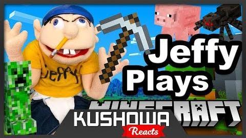 Kushowa Reacts to SML Movie Jeffy Plays Minecraft!