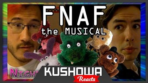 Kushowa Reacts to Five Nights at Freddy's The Musical - Night 5