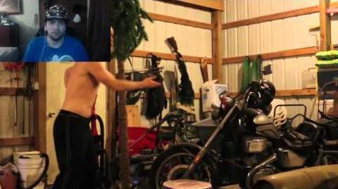 Kushowa Reacts to Psycho Kid Submerges Motorcycle