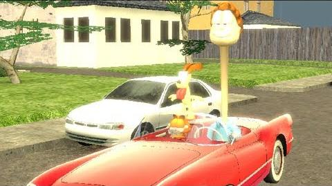 Garfield tries to survive the world ending