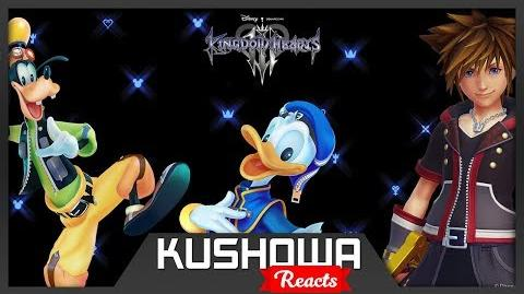 Kushowa Reacts to KINGDOM HEARTS III – D23 Expo Japan 2018 Trailer
