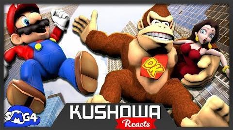 Kushowa Reacts to SMG4 Mario VS Donkey Kong