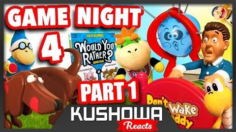Kushowa Reacts to SML Movie: Bowser Junior's Game Night 4