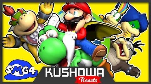 Kushowa Reacts to SMG4 Stupid Mario World