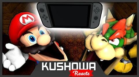 Kushowa Reacts to SM64: Mario gets a Nintendo Switch!