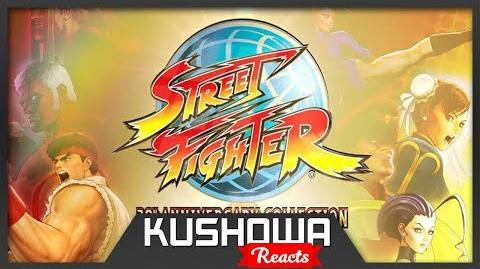 Kushowa Reacts to Street Fighter 30th Anniversary Collection – Announcement Trailer