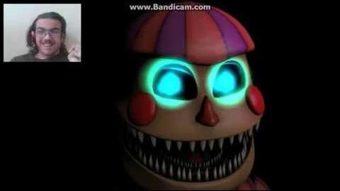 DEMON REACT SFM fnaf 4 nightmare bb