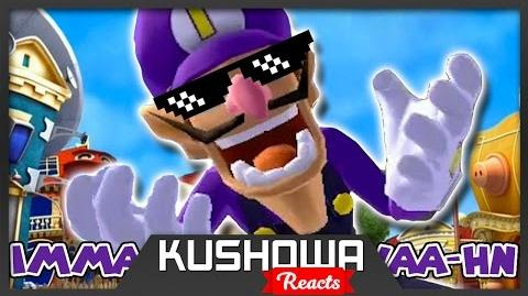 Kushowa Reacts to We are number one but it's a Waluigi parody