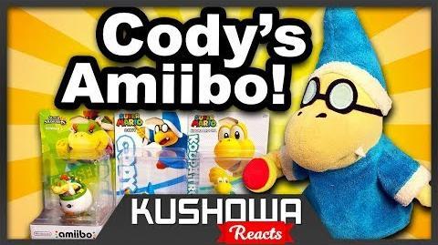 Kushowa Reacts to SML Movie Cody's Amiibo!