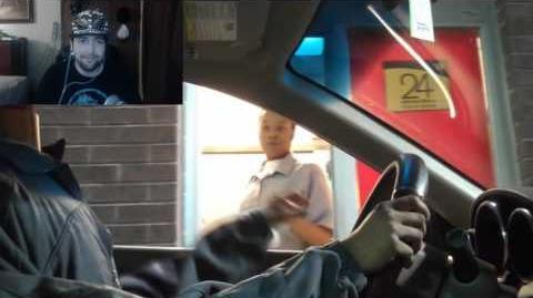 Kushowa Reacts to Drive Thru Headless Prank
