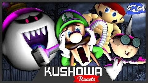 Kushowa Reacts to SMG4: Stupid Luigi's Mansion