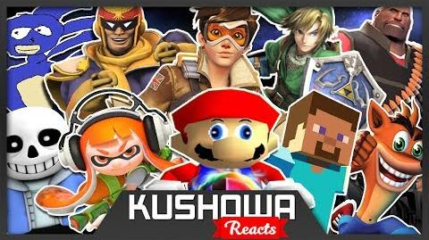 Kushowa Reacts to ♫ The Ultimate Smash Bros ♫