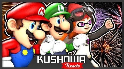 Kushowa Reacts to SMG4: New Year, New Mario