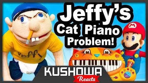 Kushowa Reacts to SML Movie Jeffy's Cat Piano Problem!