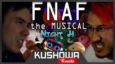 Kushowa Reacts to Five Nights at Freddy's The Musical - Night 4