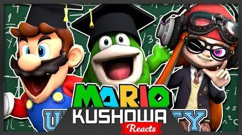 Kushowa Reacts to SMG4: Mario University