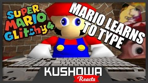 Kushowa Reacts to SM64: Mario learns to type