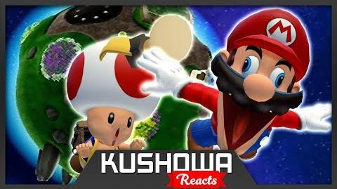 Kushowa Reacts to Retarded64: Stupid Mario Galaxy