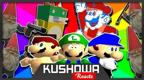 Kushowa Reacts to SMG4: Welcome To The Kushroom Mingdom