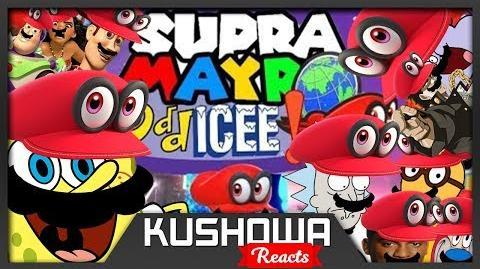 Kushowa Reacts to YTP Collab Supra Mayro Odd-ICEE!