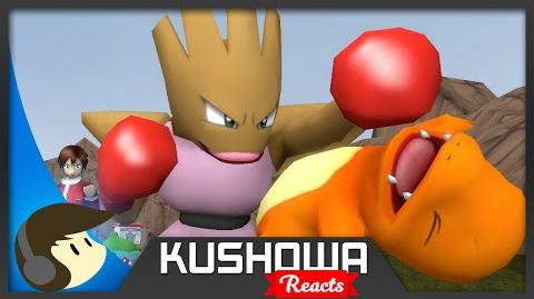 Kushowa Reacts to Charmander Gets Punched in the Face - Starter Squad (Ep.5)