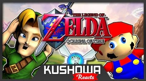 Kushowa Reacts to If Mario was in... Legend Of Zelda Ocarina Of Time