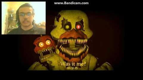 DEMON REACT FNAF 4 NIGHTMARE Chica voice