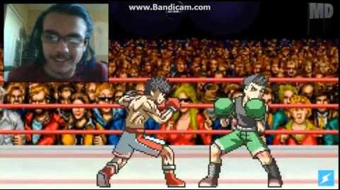 DEMON REACT One Minute Melee - Little Mac vs Makunouchi Ippo