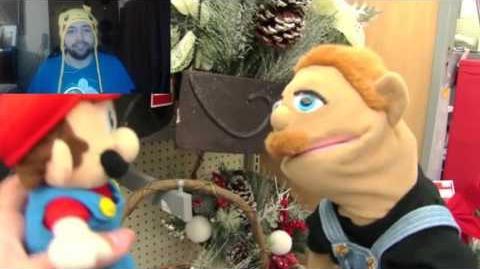 Kushowa Reacts to SML Movie: Mario's Christmas Tree Problem!